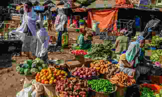 A market in Ethiopia (Shutterstock)