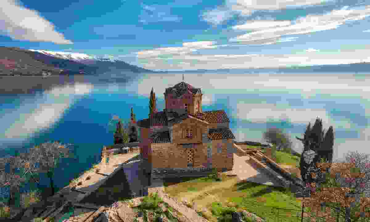 Overlooking Lake Ohrid in Western Macedonia (Shutterstock)