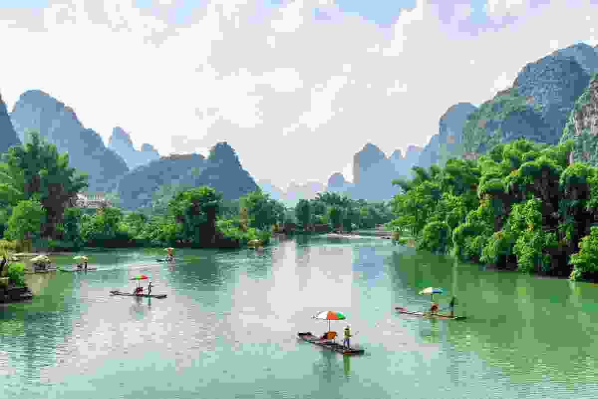 Yangshuo, China (Shutterstock)