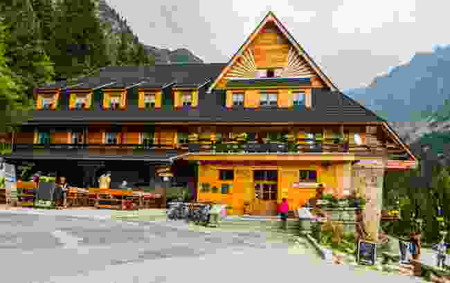 A mountain hostel in the Tatras Mountains, in Slovakia. Perhaps not what you were expecting? (Shutterstock)