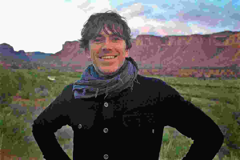 Simon Reeve in Colorado (BBC/Craig Hastings)