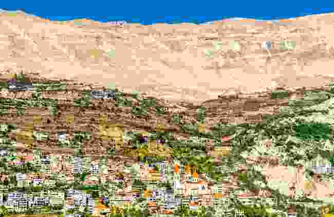 A wide view of Bcharre, Lebanon (Dreamstime)