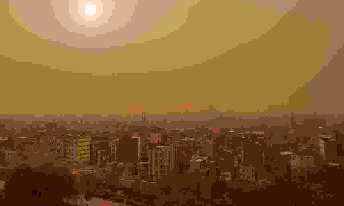 Khamsin over Cairo (Shutterstock)