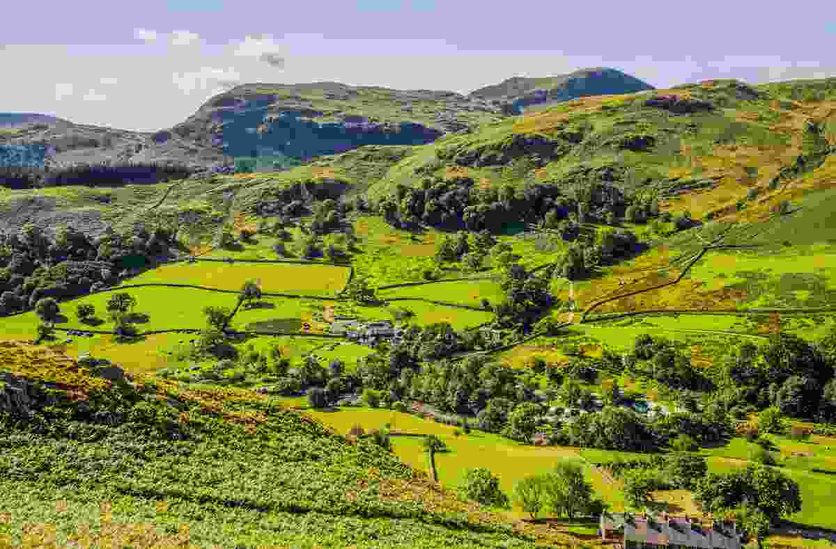Glenridding, seen from the slopes of Sheffield Pike, in the Lake District, Cumbria (Dreamstime)