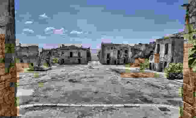 Sicily's ghost town was never rebuilt (Shutterstock)