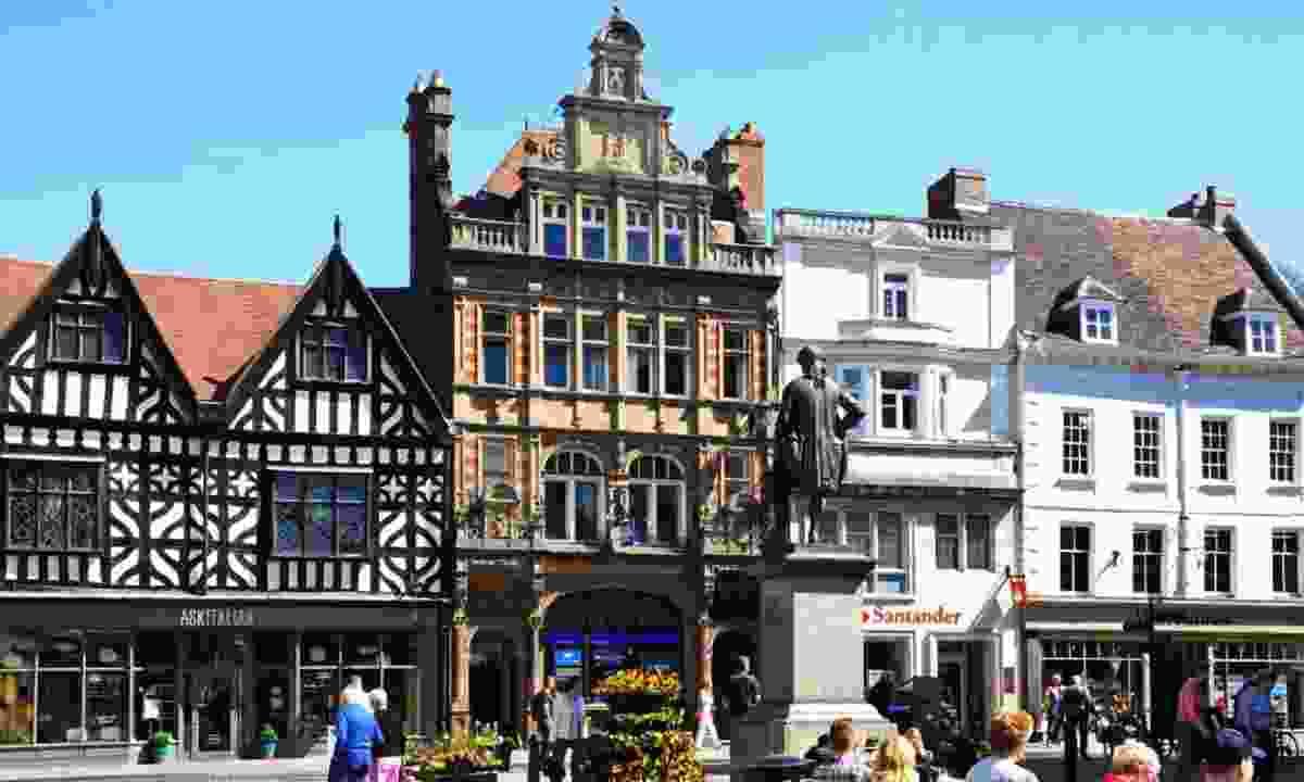 Shrewsbury, UK (Shutterstock)