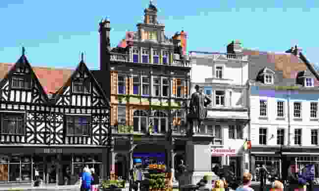 Shrewsbury, UK (Shutterstock)