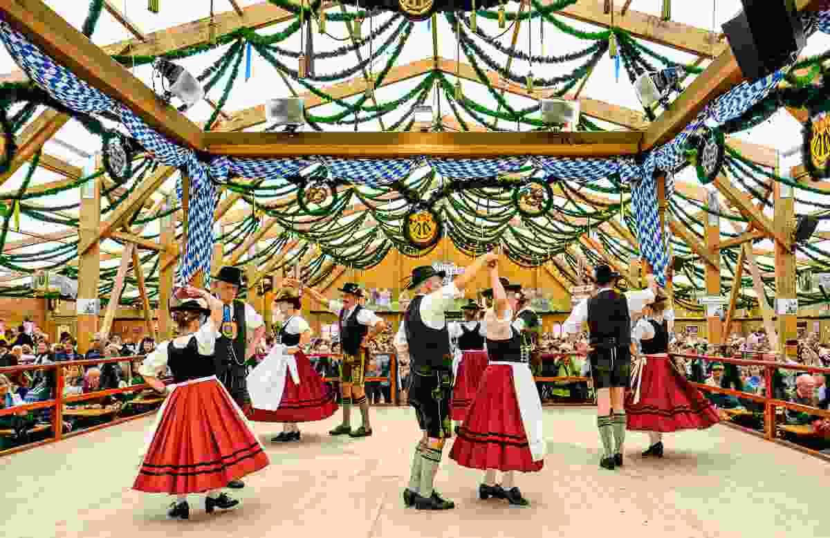 Traditional costumes at Oktoberfest in Munich, Germany (Shutterstock)