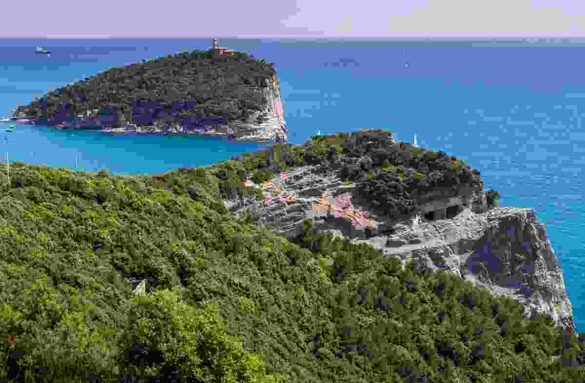The islands of Palmaria and Tino, off the Porto Venere coast, Italy (Shutterstock)