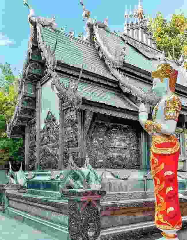 The 'silver temple' Wat Sri Suphan (Martin Symington)