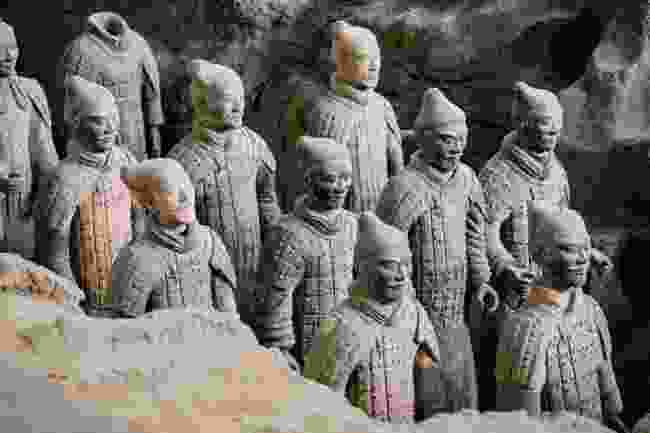 The Terracotta Army at the tomb of Qin Shi Huang (Shutterstock)