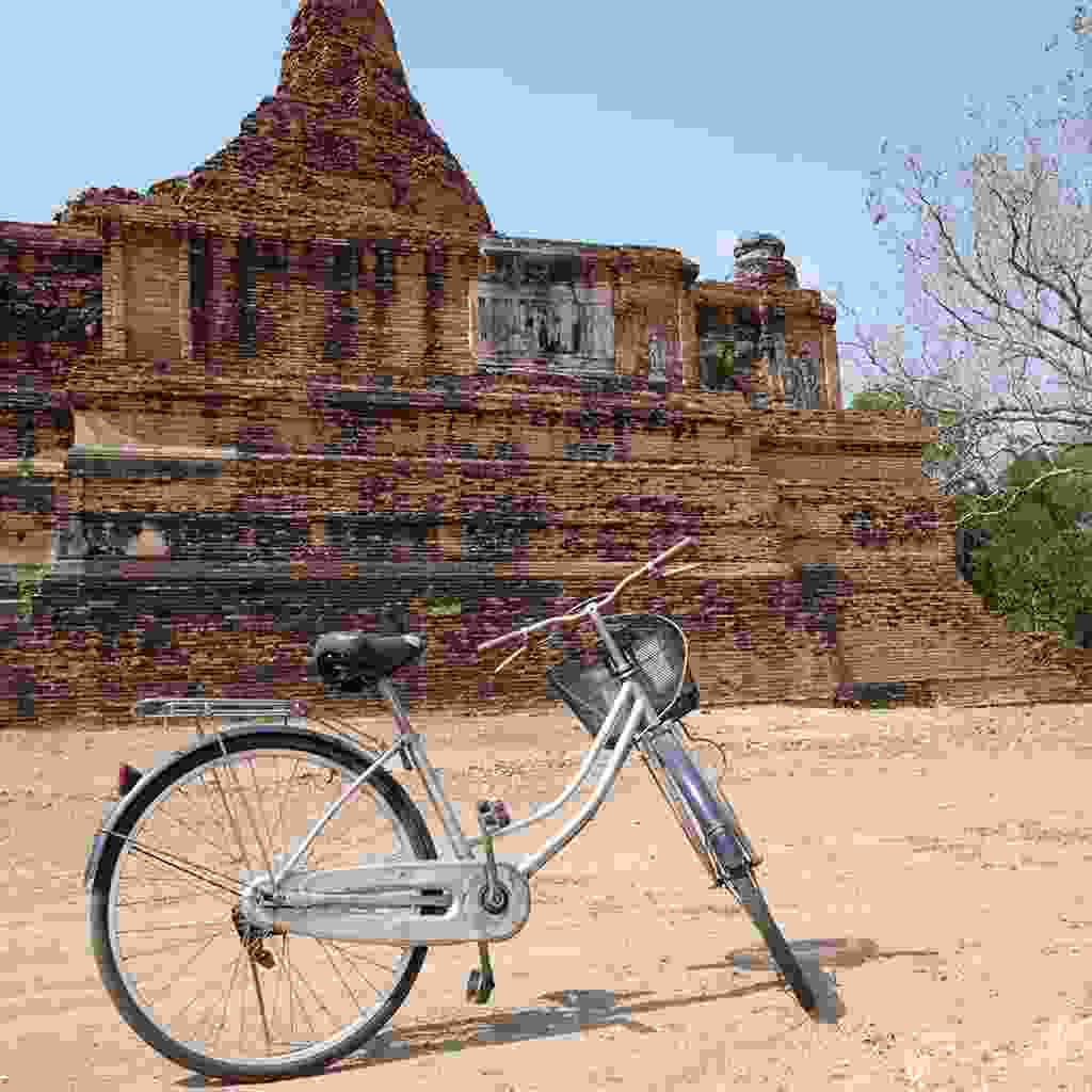 Explore Ayuttaya by bicycle (Shutterstock)