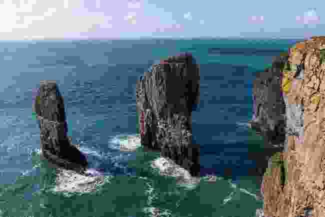 Stack Rocks, Pembrokeshire, Wales (Shutterstock)