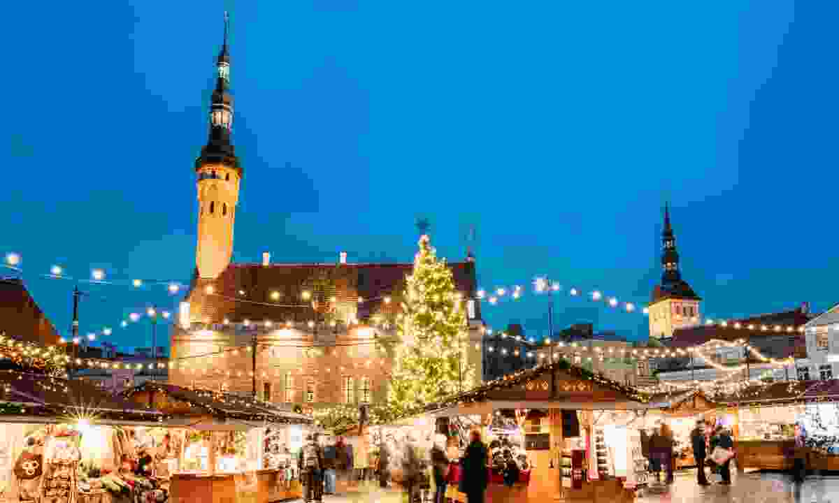 Christmas markets in Tallin (Dreamstime)