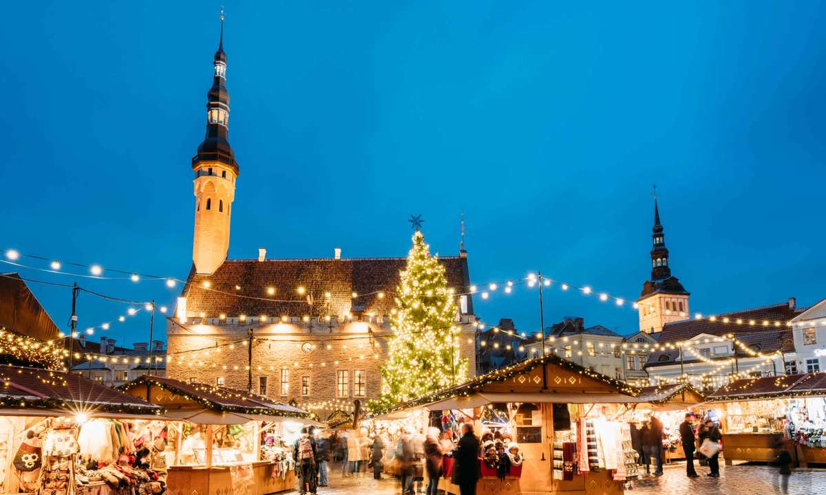 Christmas markets in Tallin (Dreamstime)