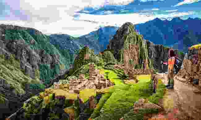 Gazing out over Machu Picchu's ruins (Shutterstock)
