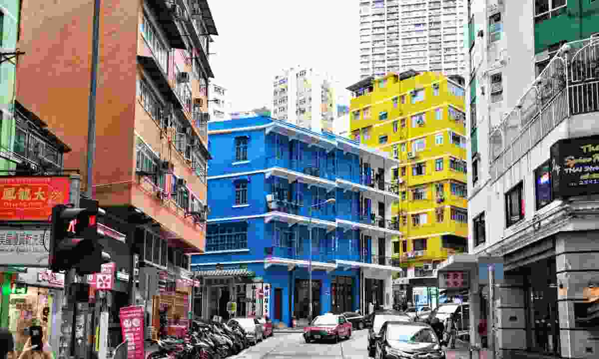 The Blue House is one of few buildings to survive both the Second World War and progress (Hong Kong Tourism Board)