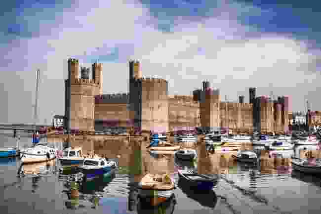 Caernarfon Castle (Shutterstock)