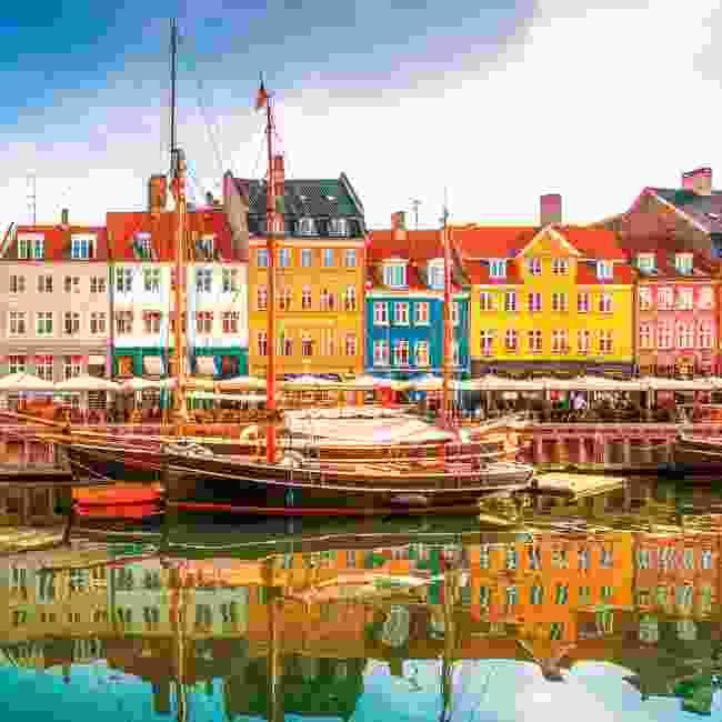 Bright harbour-side hub of Nyhavn, Copenhagen (Shutterstock)