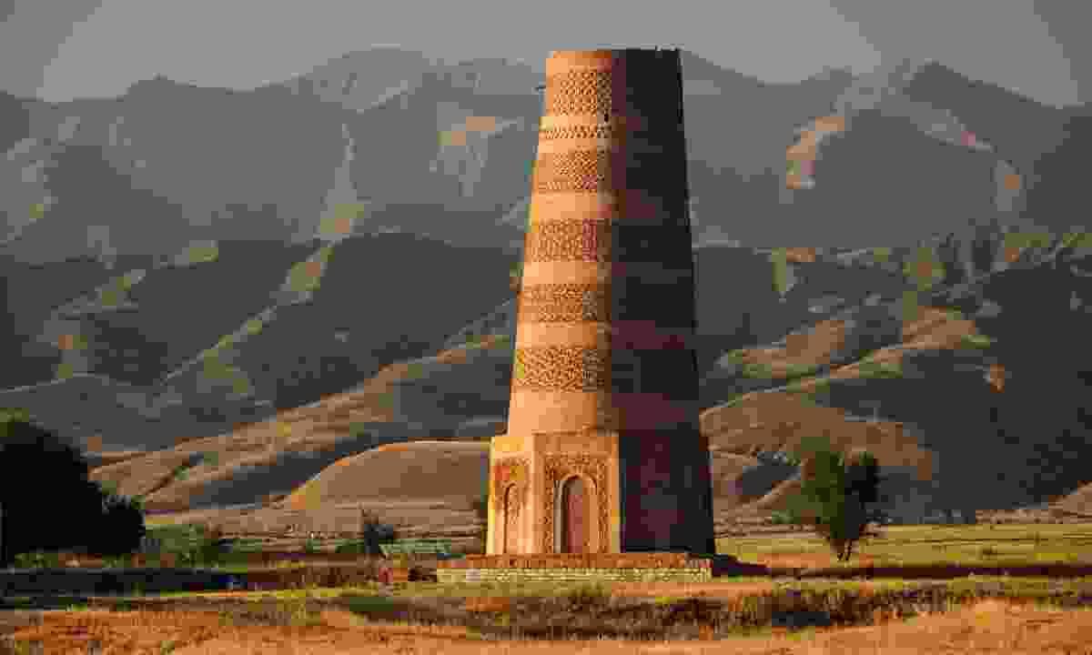 Burana tower, Kyrgyzstan (Dreamstime)