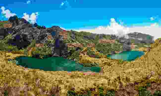 Lake near Mount Wilhelm (Dreamstime)