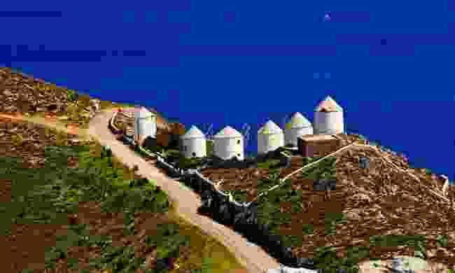 Traditional windmills on Leros (Shutterstock)