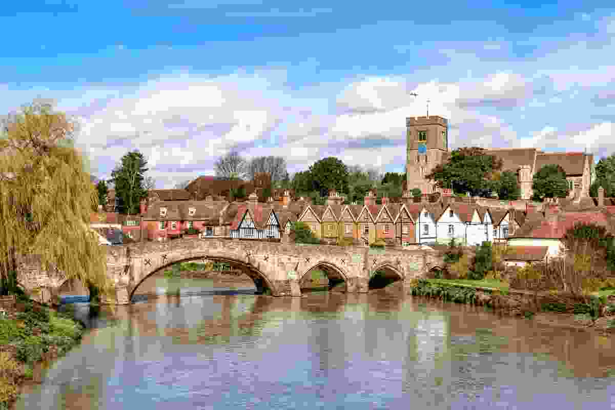 An idyllic image of Aylesford village in the county of Kent, South of England (Dreamstime)