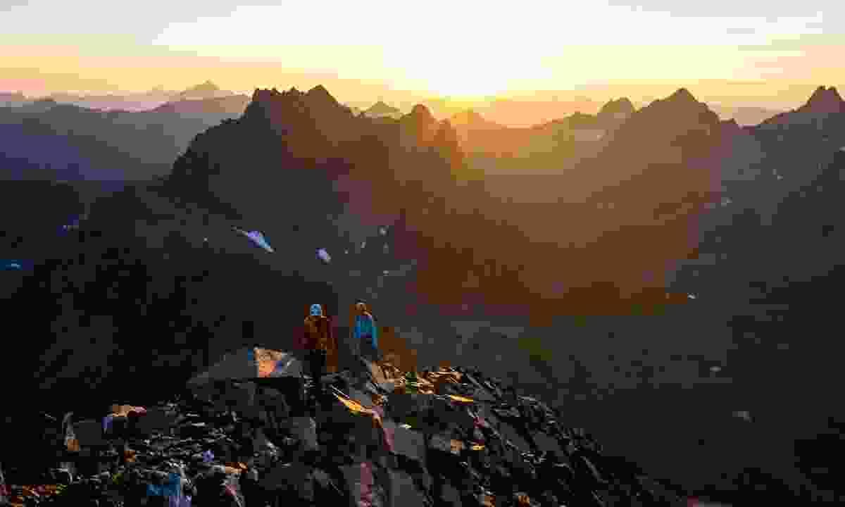 Hiking in St. Anton am Arlberg (Wolfgang Ehn)