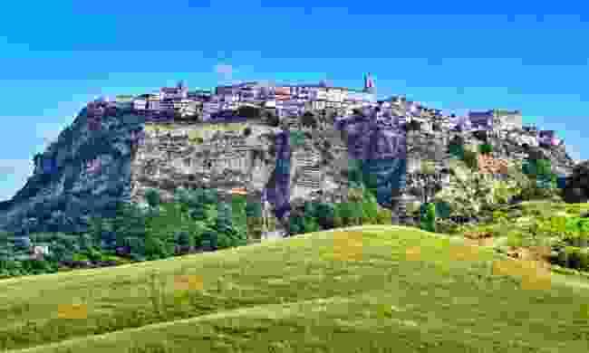 The town of Santa Severina (Shutterstock)
