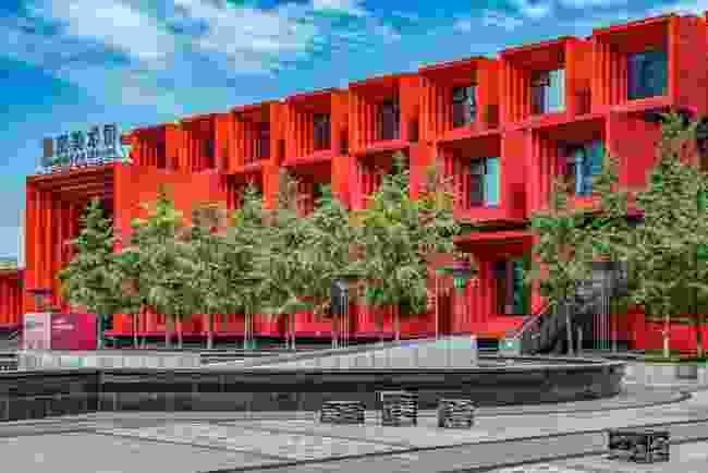 Chongqing Guotai Arts Centre in Shenzhen (Shutterstock)