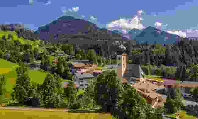 The village of Aurach (Shutterstock)