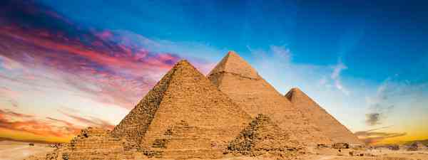 The Pyramids of Giza, Egypt (Shutterstock)