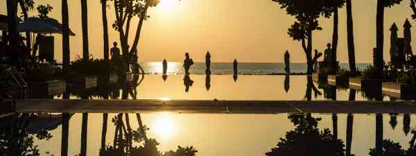 Sunset over Layana Resort (Christopher Roche)