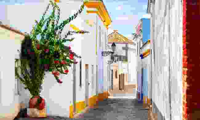 Few see the picturesque whitewashed streets of Faro, a city sadly skipped over by most travellers here (Shutterstock)
