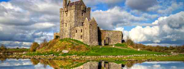 Dunguaire Castle in County Galway (Shutterstock)