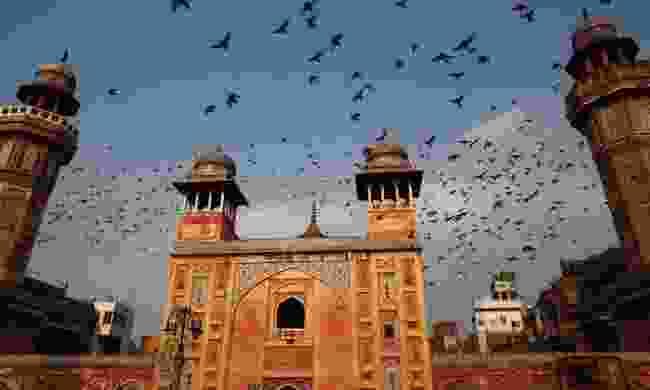 Wazir Khan Mosque with birds (Shutterstock)