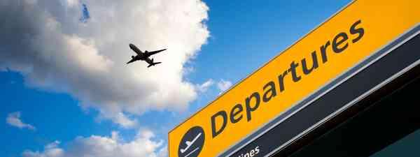 Departures at Heathrow Airport, UK (Shutterstock)