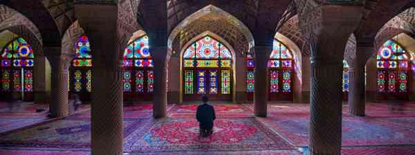 The Pink Mosque, Shiraz, Iran. (Dreamstime)