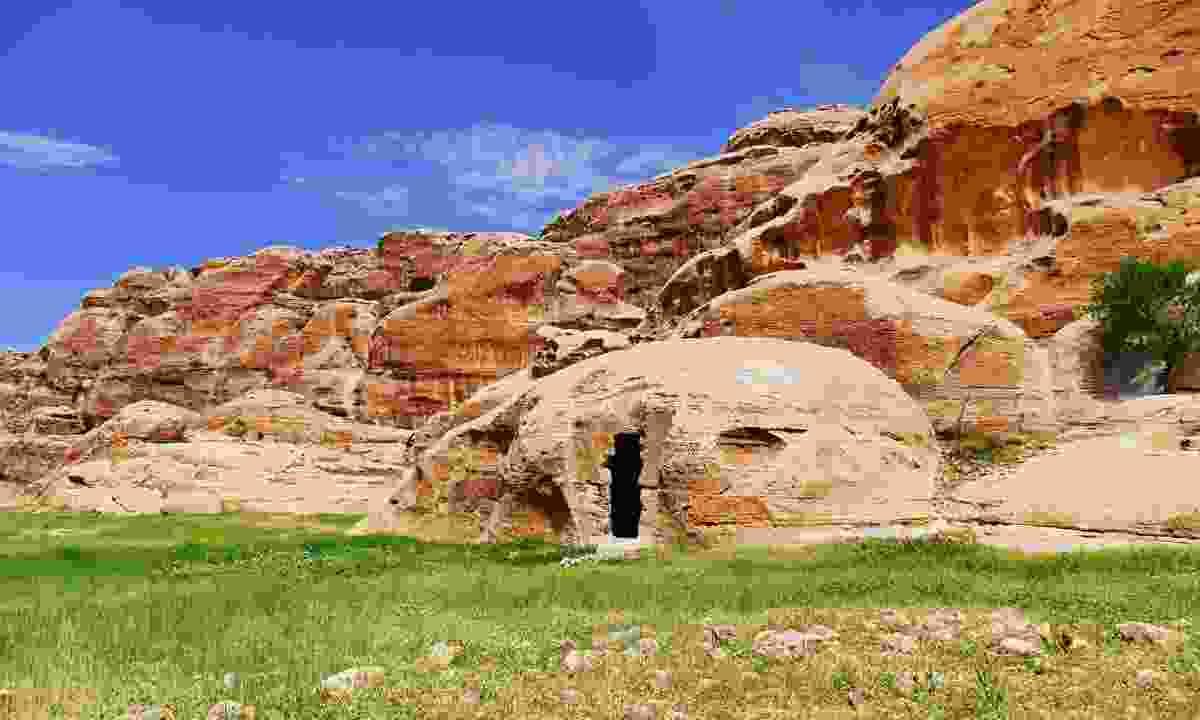 The rocky landscape of Little Petra (Dreamstime)