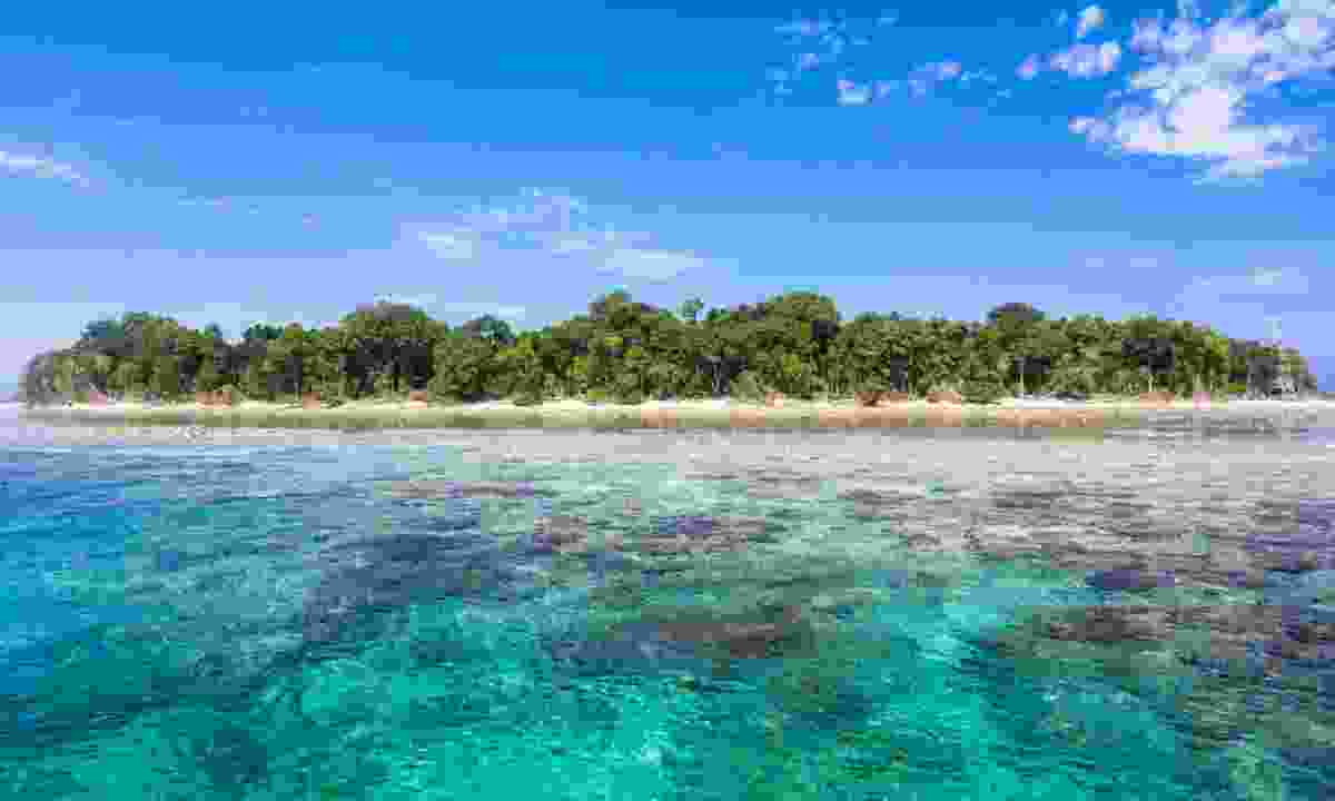 The island of Sipadan. (Dreamstime)