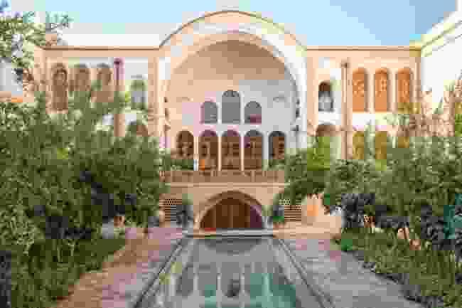 The Manouchehri House, Kashan (Hamed Farhangi)