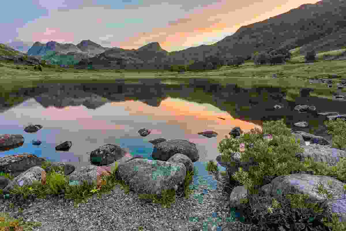 Sunrise over Blea Tarn, in the Lake District, Cumbria (Dreamstime)