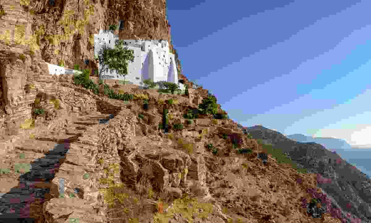 Panagia Hozoviotissa monastery on Amorgos island (Shutterstock)