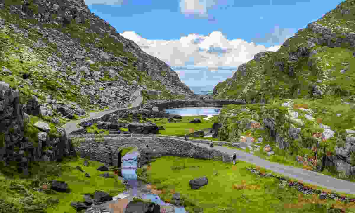Scenic view of Gap of Dunloe, County Kerry (Shutterstock)