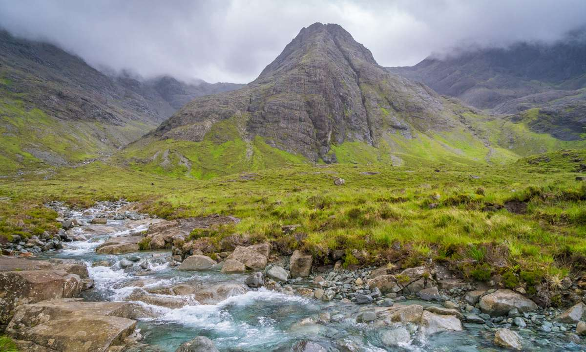 The Black Cuillin (Dreamstime)