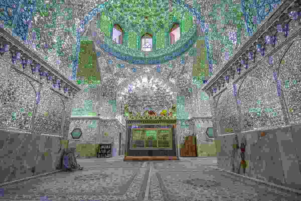 The shrine of Ali Ibn Hamza Mausoleum, Shiraz. (Dreamstime)