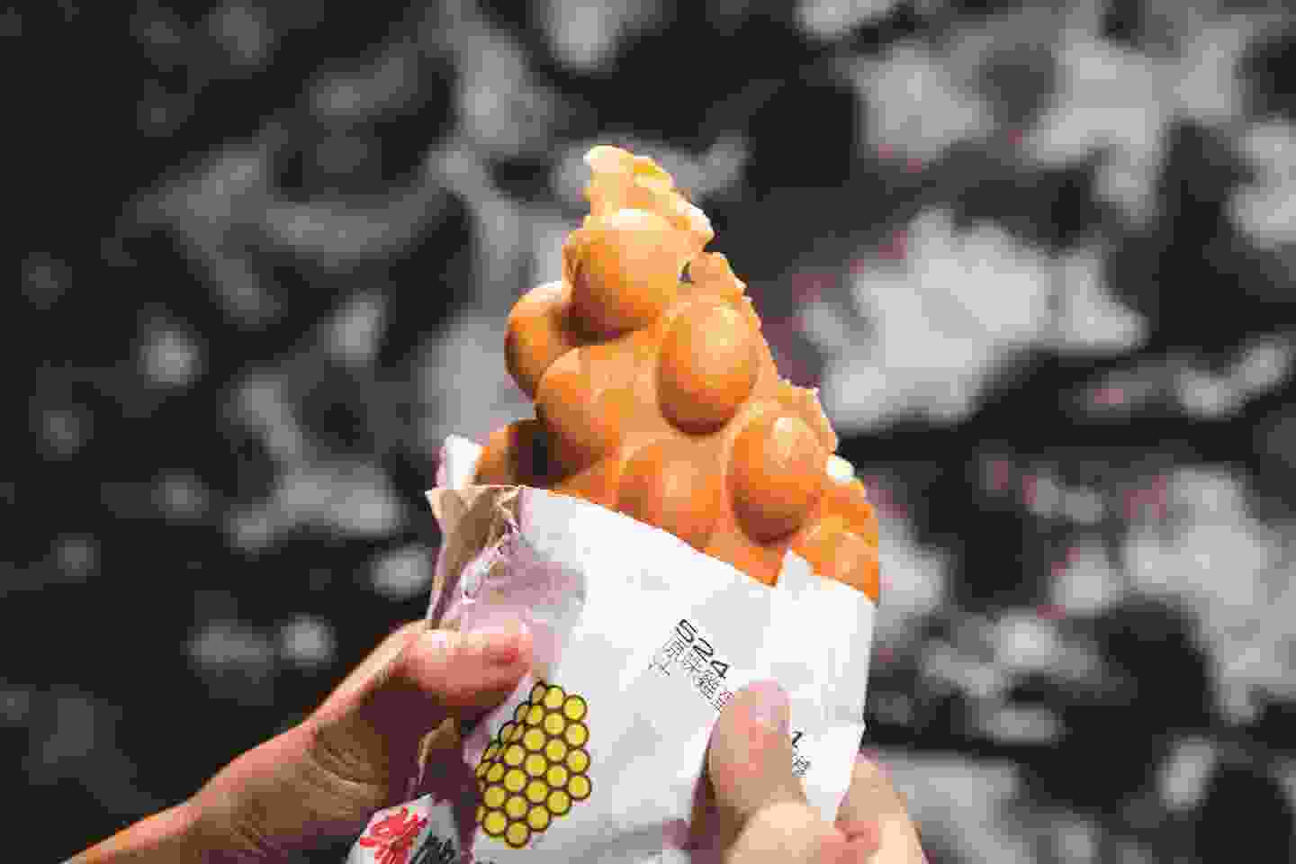 Egg waffles are a local icon (Hong Kong Tourism Board)