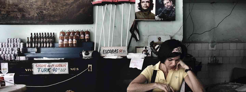 Che y Fidel, La Habana Vieja (Bernhard Hartmann)
