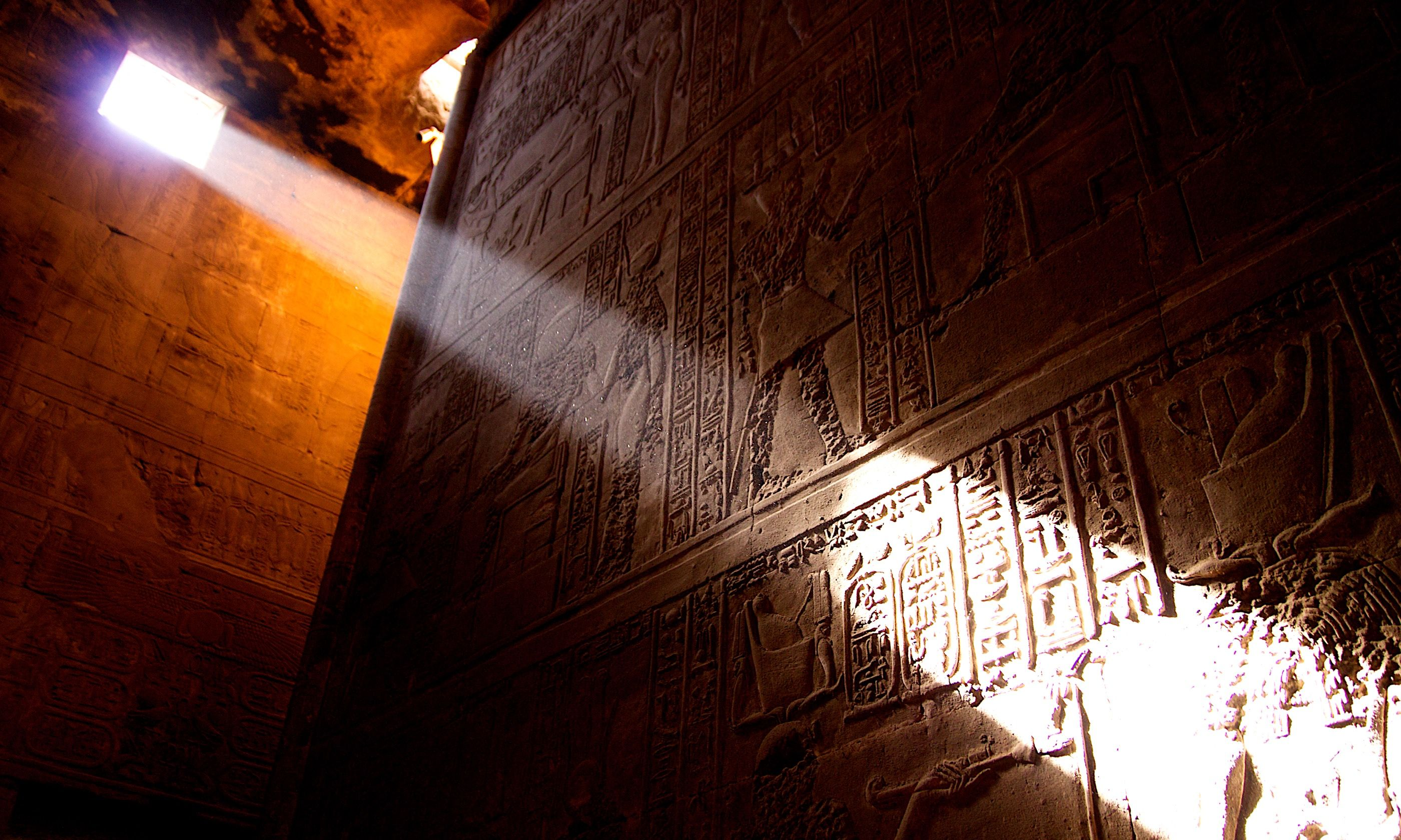 Temple in Egypt (Dreamstime)