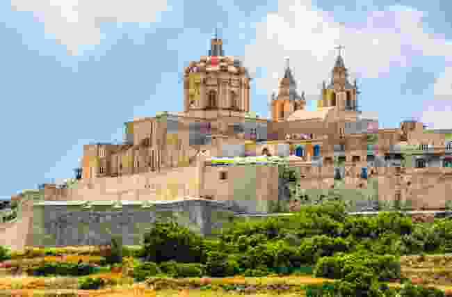 A scenic view of Mdina, the Silent City of Malta (Shutterstock)